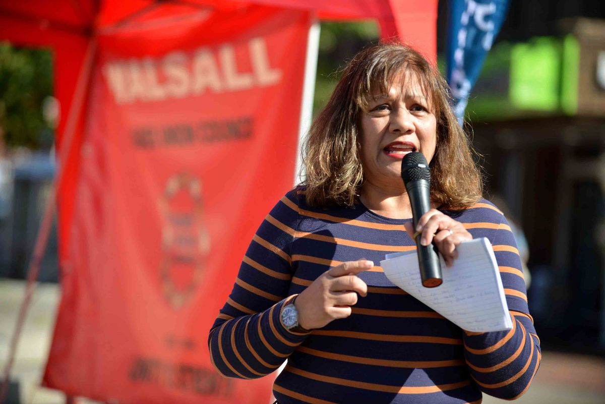 Walsall South MP Valerie Vaz, the Shadow leader of the House