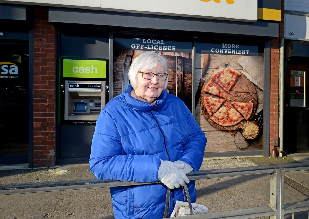 Shopper Sue McHugh has lived in Tipton all her life