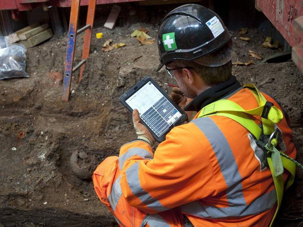 HS2 archaeological dig