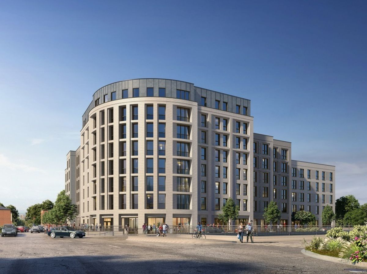 The new apartment block planned for the former site of the African Village bar and restaurant