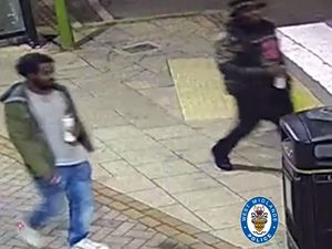 The suspects caught on camera