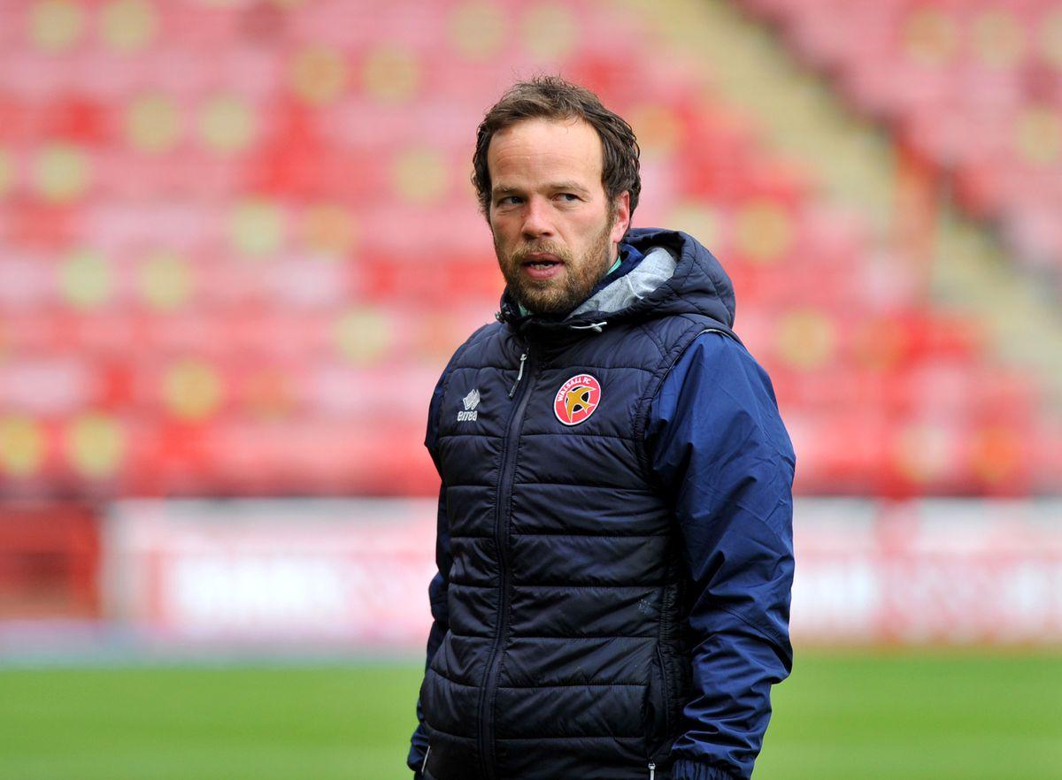 Walsall manager Brian Dutton.