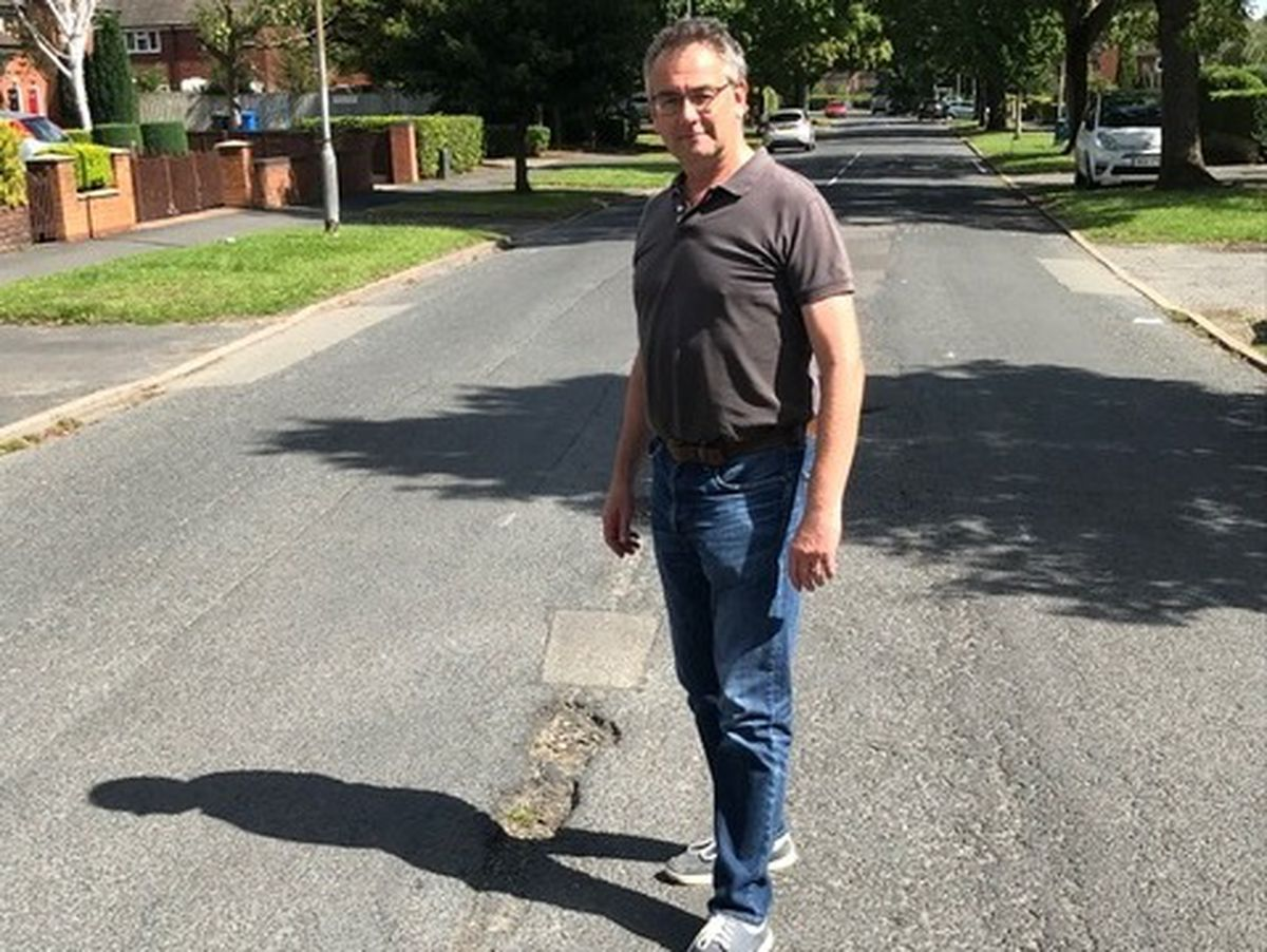 Councillor Paul Ray is dismayed at the 'dreadful' condition of the city's roads