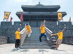 Wolves ay we...say Chinese rockers heralding Far East revolution
