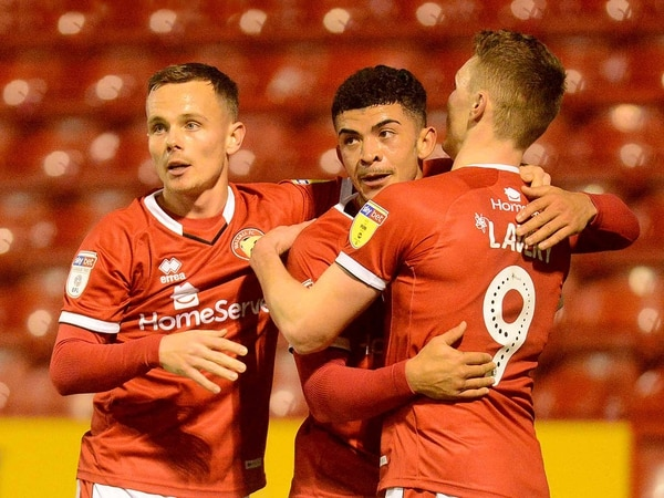 Walsall strike duo are starting to click