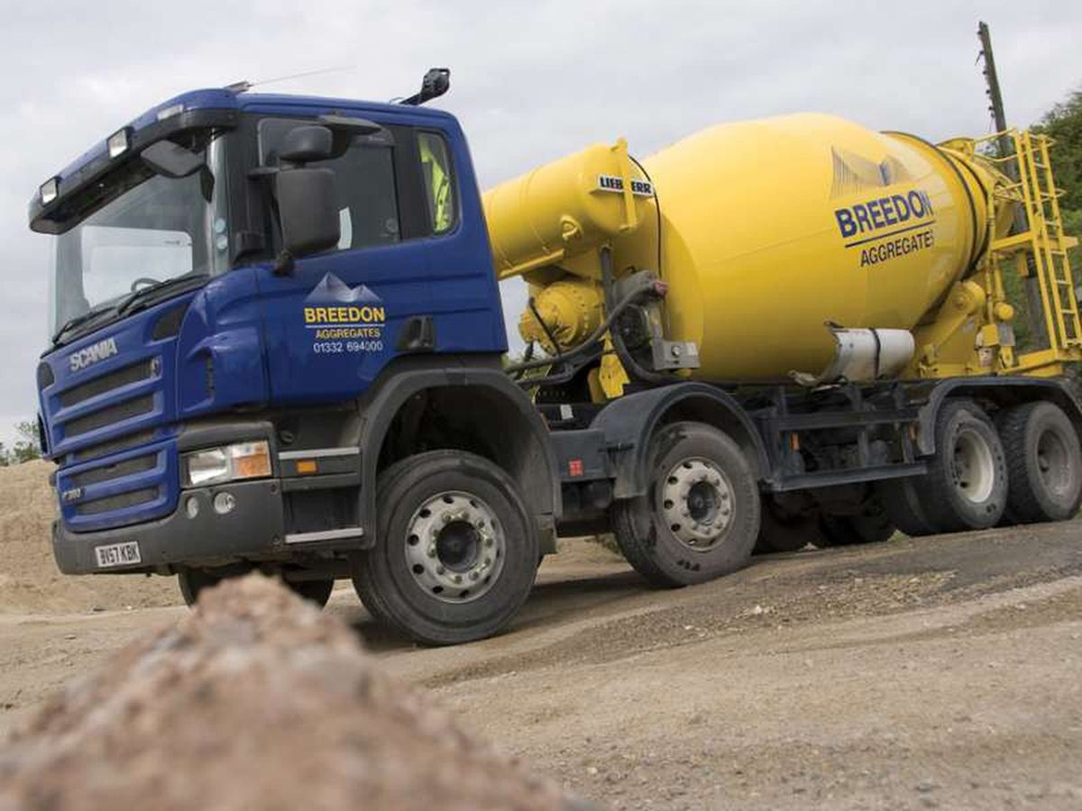 Breedon operates sites across the West Midlands