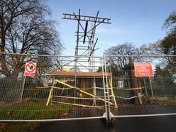 Call for repair work at West Park entrance to be completed