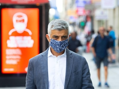 Khan presses for new Covid controls for London as infections rise