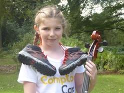 Schoolgirl to brave Mount Snowdon with cello for Compton Care