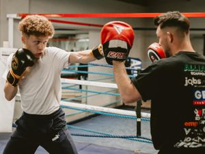 WALSALL COPYRIGHT EXPRESS & STAR JAMIE RICKETTS 22/06/2021 - Feature on BCB Promotions Box & Study programme. In Picture: Student Levi Bryant 17..