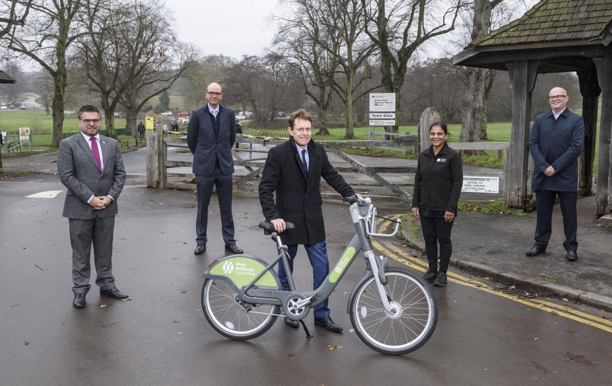 The new bikes are ready to hire in Sutton Coldfield