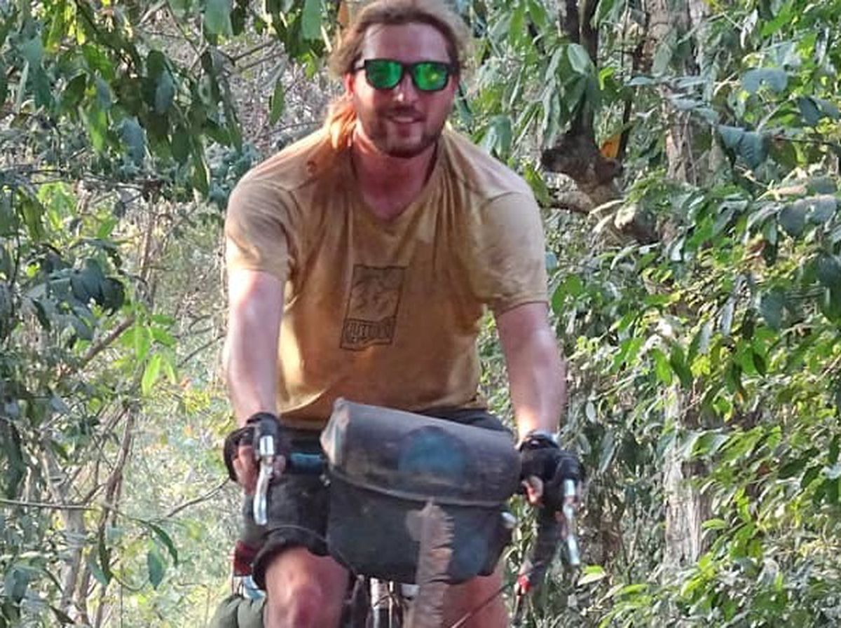 Nick cycling in Cambodia