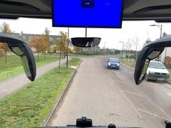 Technical fault leaves Tory bus stranded on housing estate
