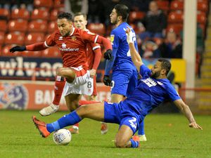 SPORT COPYRIGHT TIM STURGESS EXPRESS AND STAR ........01/10/20   Walsall fc V Leyton Orient fc .Pictured, Wes McDonald..