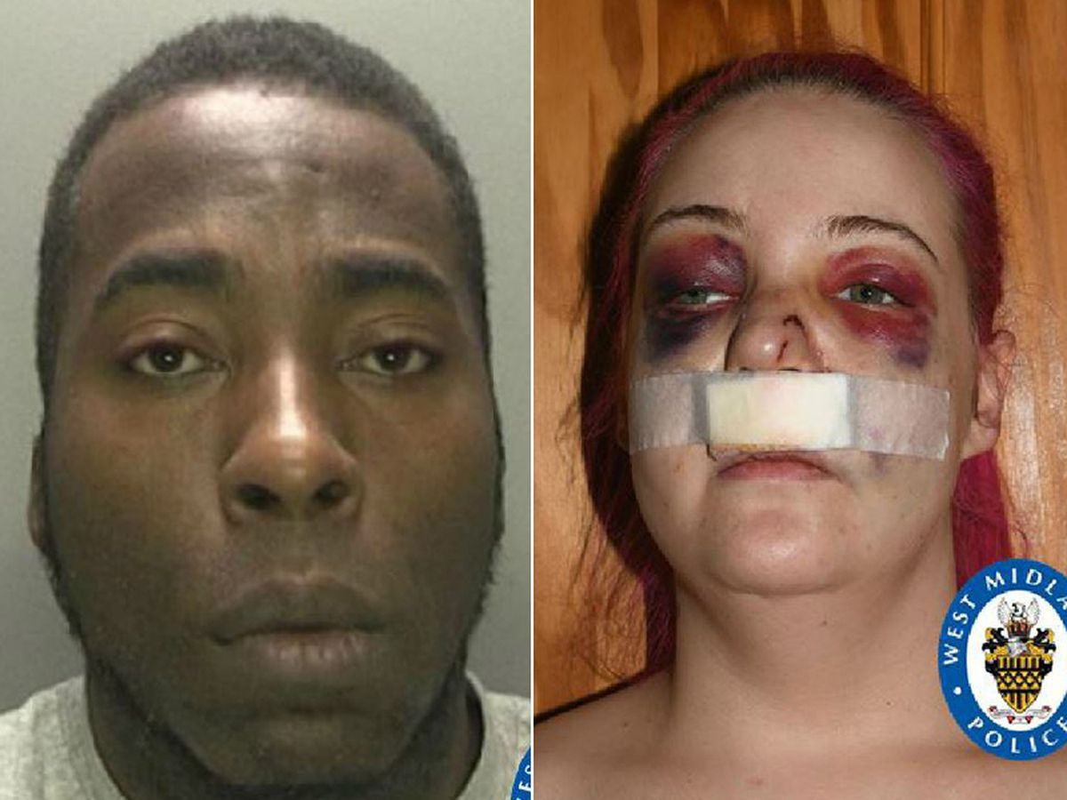 Leon Thompson has been jailed for the assault on Danielle Perry