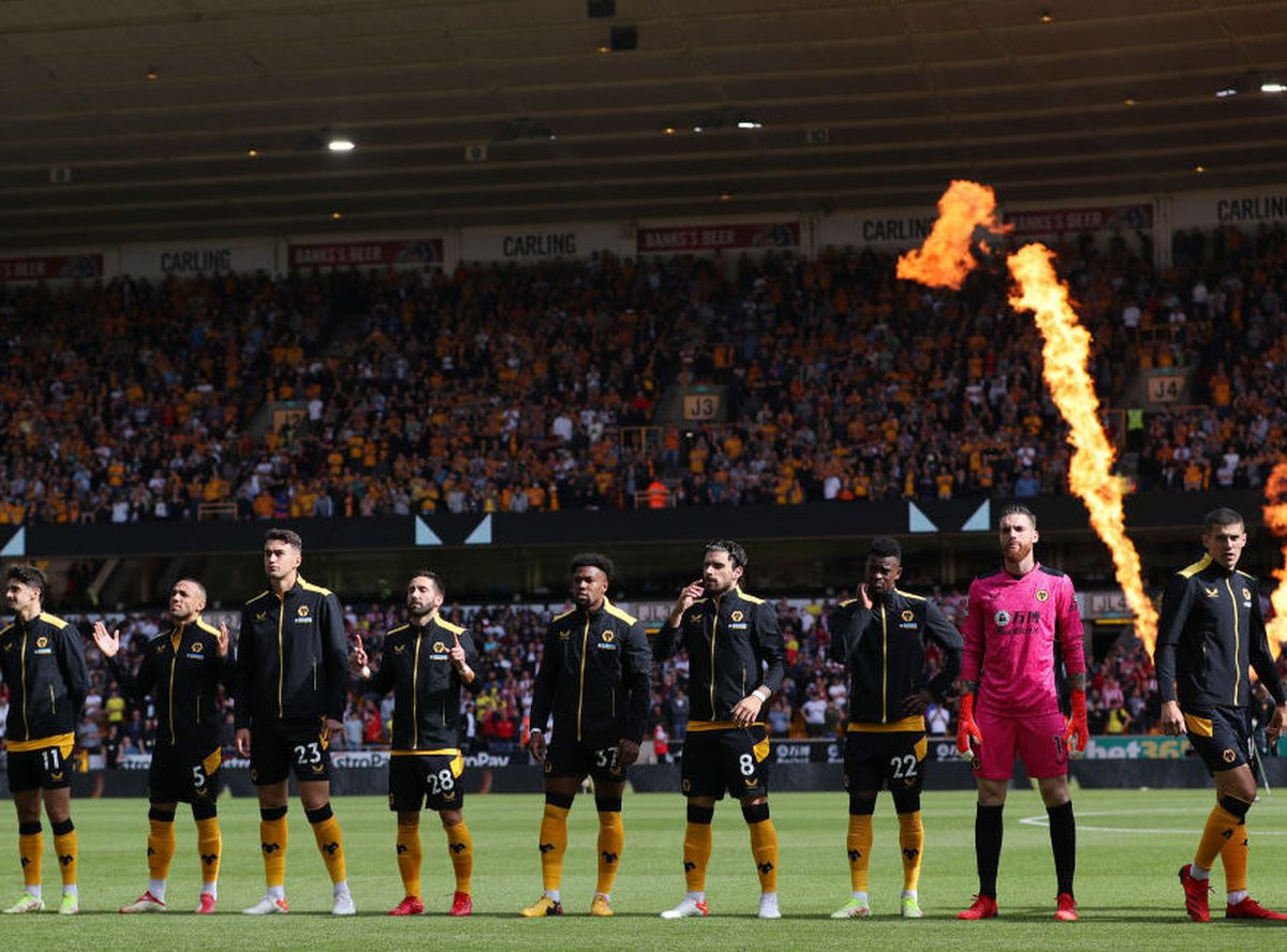 Wolves pre-match (Getty)