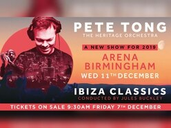 Pete Tong and The Heritage Orchestra to return to Birmingham next year