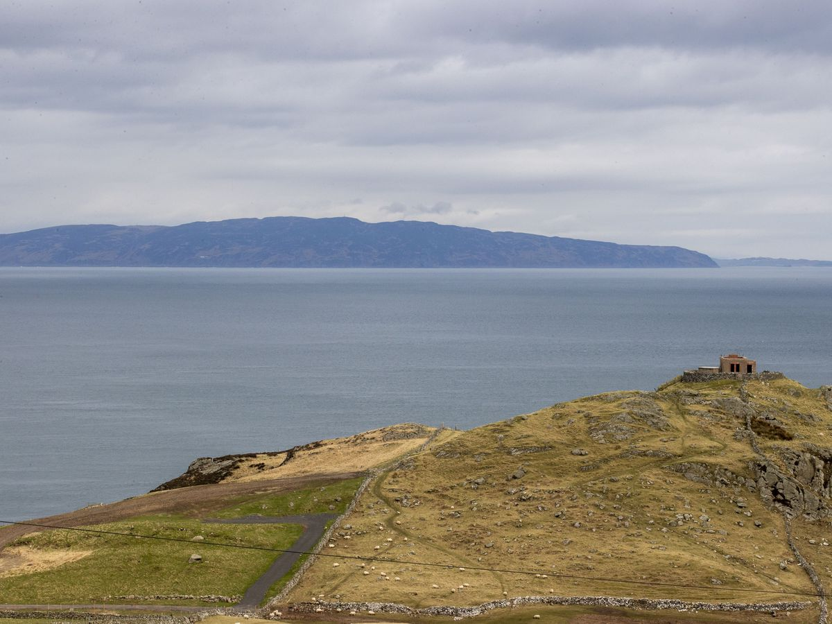 A view from Northern Ireland to Scotland
