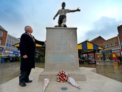 Duncan Edwards remembered in Dudley on 60th anniversary of Munich Air Disaster