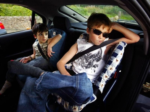 How to survive a car journey with kids