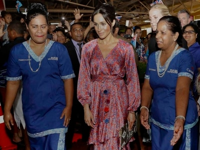 Meghan's visit to Fiji market cut short over 'security risk'