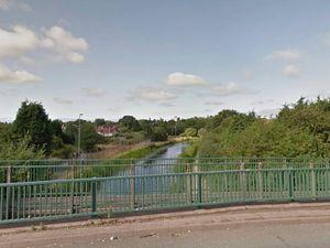 The Wyrley and Essington Canal near Green Rock Lane. Photo: Google StretView.