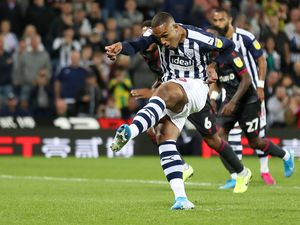 Kenneth Zohore to be assessed for calf knock ahead of West Brom's trip to Derby