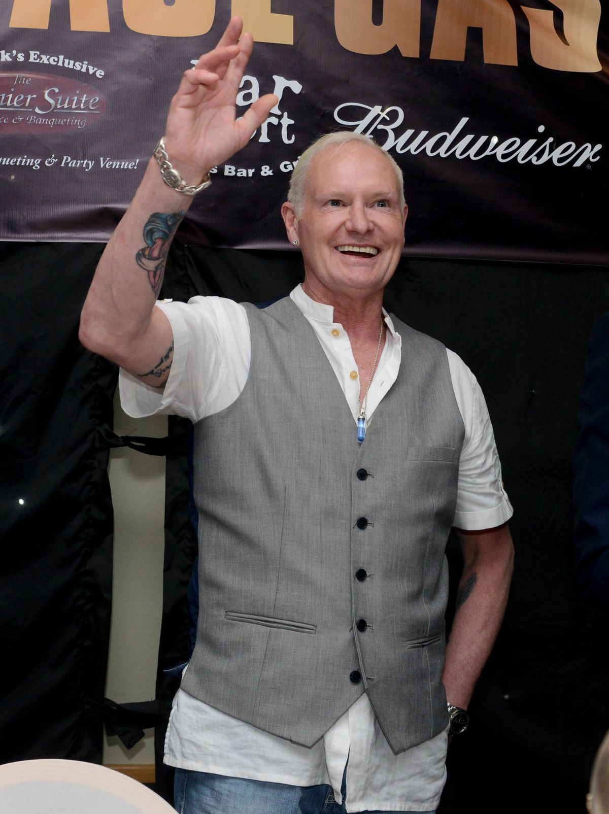 Paul Gascoigne regaled fans with stories from his career