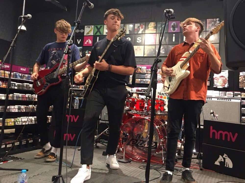 Penkridge's The Verse headline latest RawSound.tv showcase at HMV Merry Hill