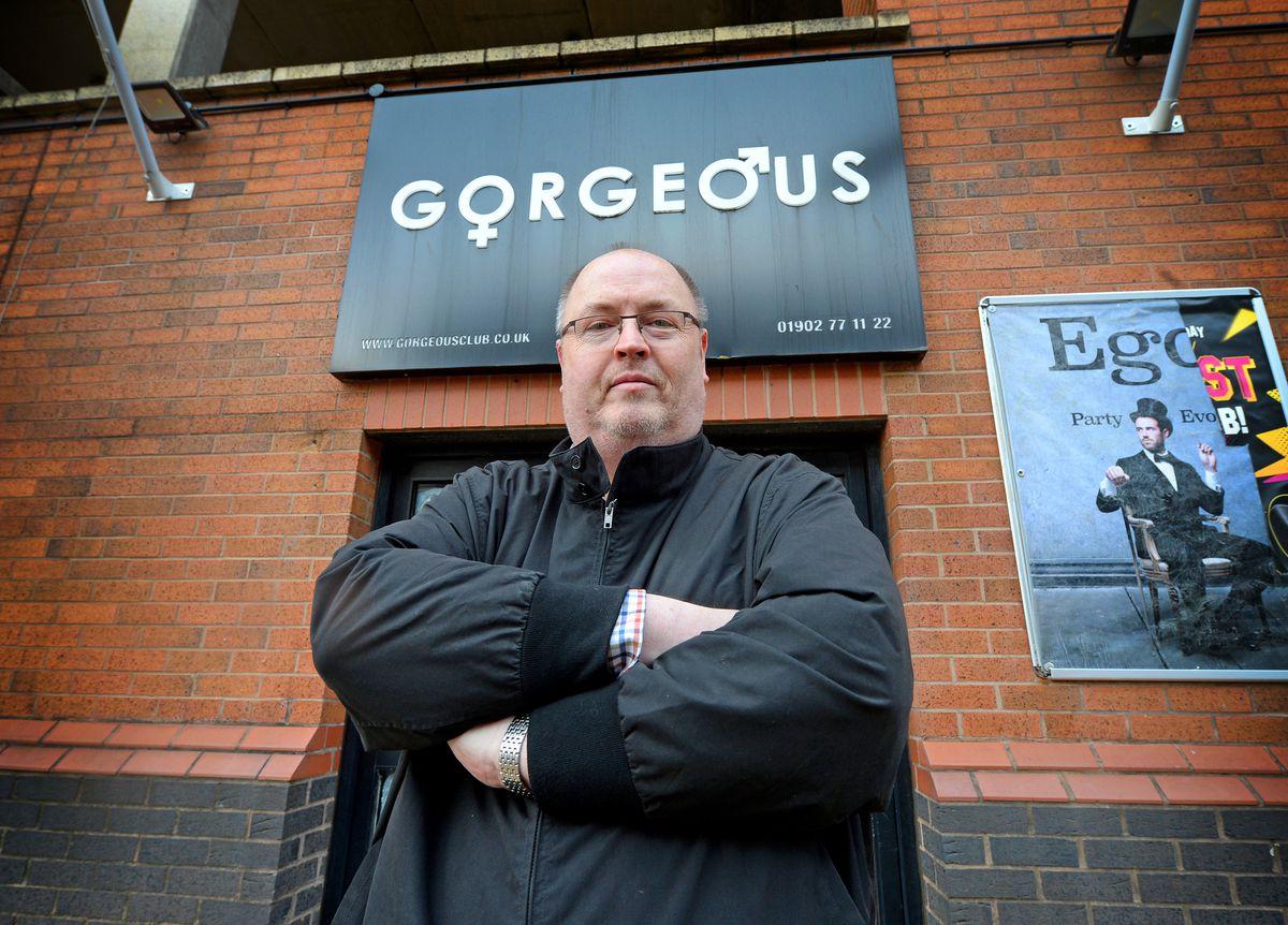 Shaun Keasey, owner of Gorgeous Nightclub, Wolverhampton
