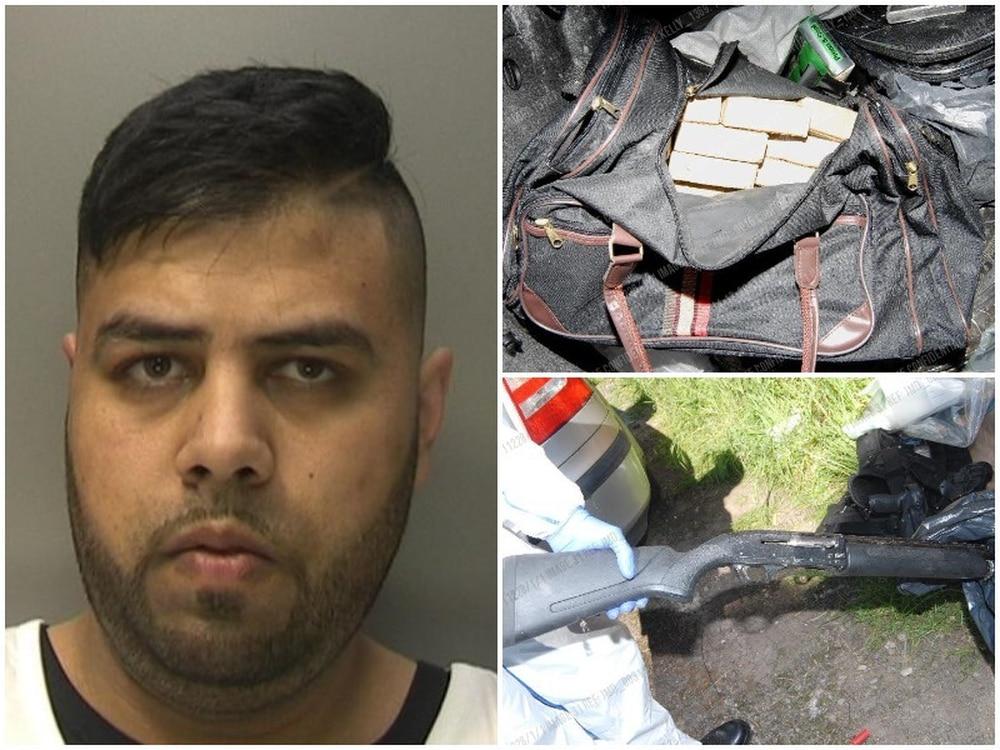 Nottingham drug dealer jailed after naked chase - BBC News