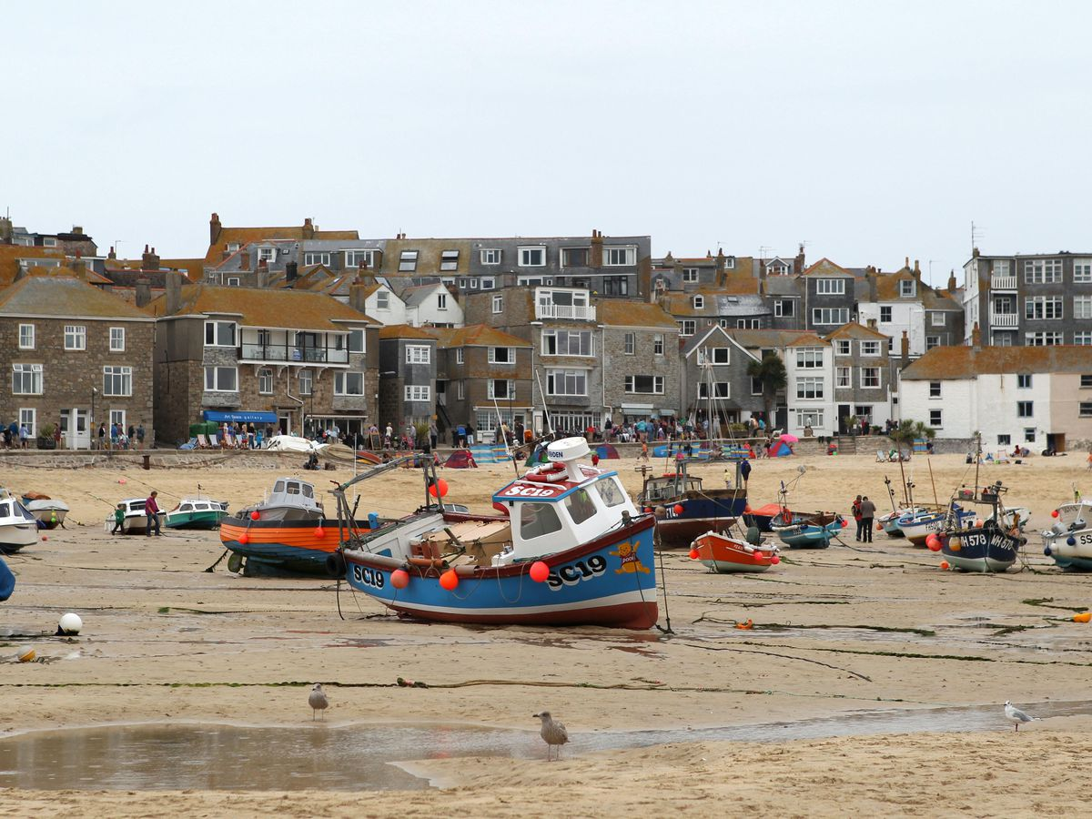 The harbour at St. Ives in Cornwall