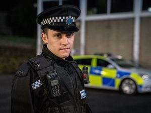 Gregory Piper, from Dudley, is playing a prominent role as Ryan Pilkington in series six of Line of Duty. Photograph: Steffan Hill.