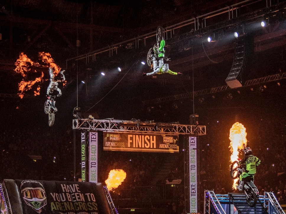 Power Maxed Arenacross Tour, Genting Arena, Birmingham - in pictures