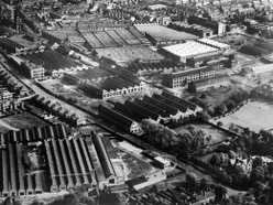Wartime Wolverhampton images picked out bombing targets