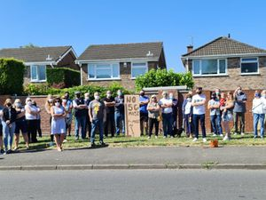 Residents in Stroud Avenue, Short Heath, Willenhall oppose a 5G mast being built near their homes. Photo: Josh Whitehouse