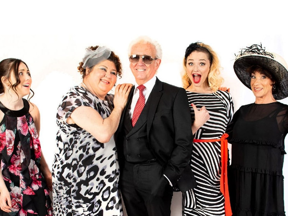 Rehearsals begin for Ladies' Day at Wolverhampton Grand Theatre