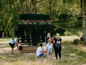 The land underwent a £1million renovation to create a new outdoor trail
