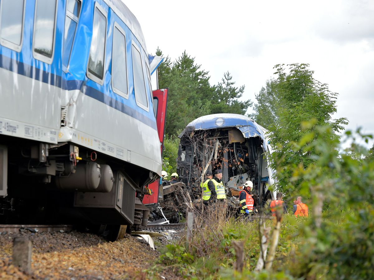 Three killed as passenger trains collide in Czech Republic