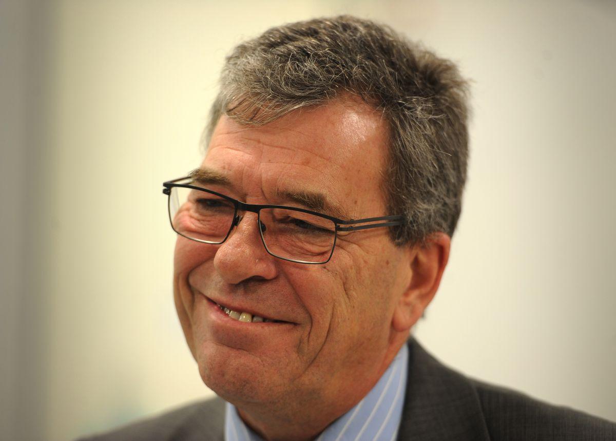 Chief Executive of The Royal Wolverhampton Hospitals NHS Trust David Loughton CBE