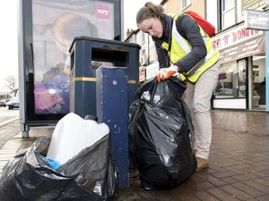 Fly-tipping notices handed to firms in Wolverhampton hotspot