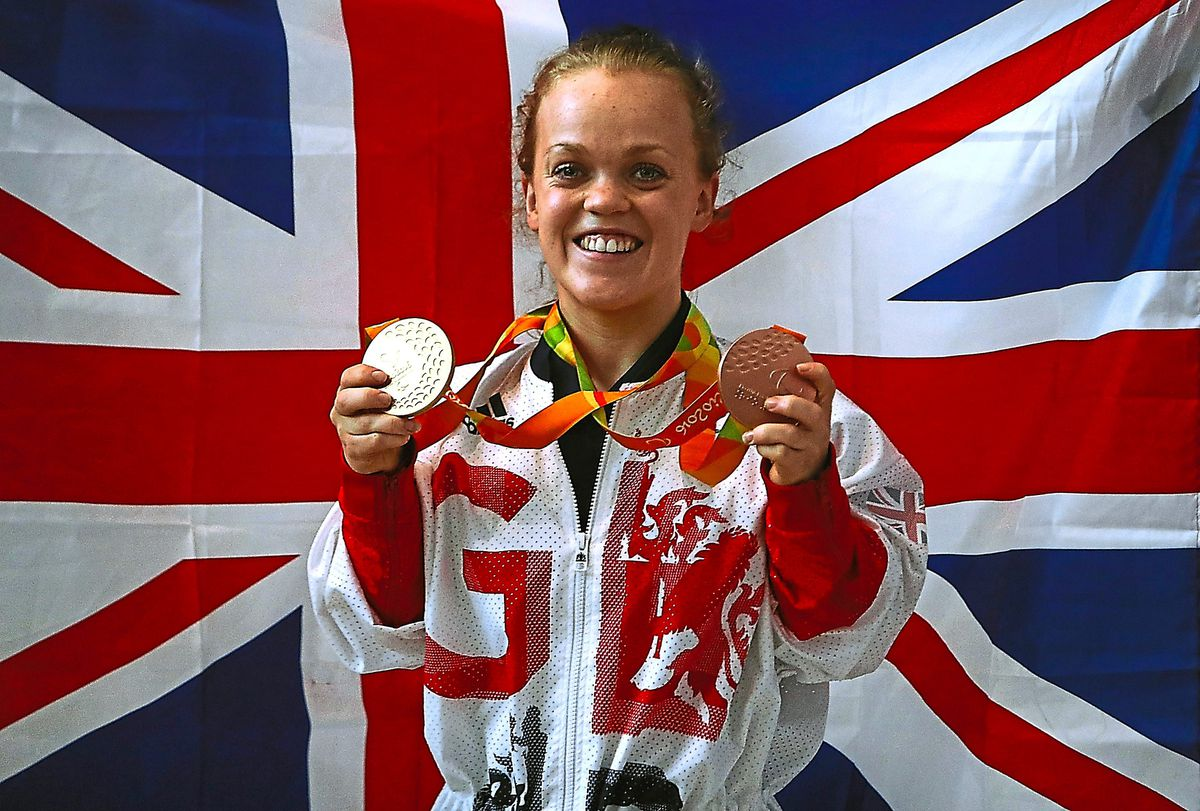 Great Britain's Ellie Simmonds
