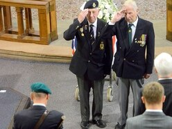 Emotional and fitting final farewell for Burma Star veteran Howard Beech