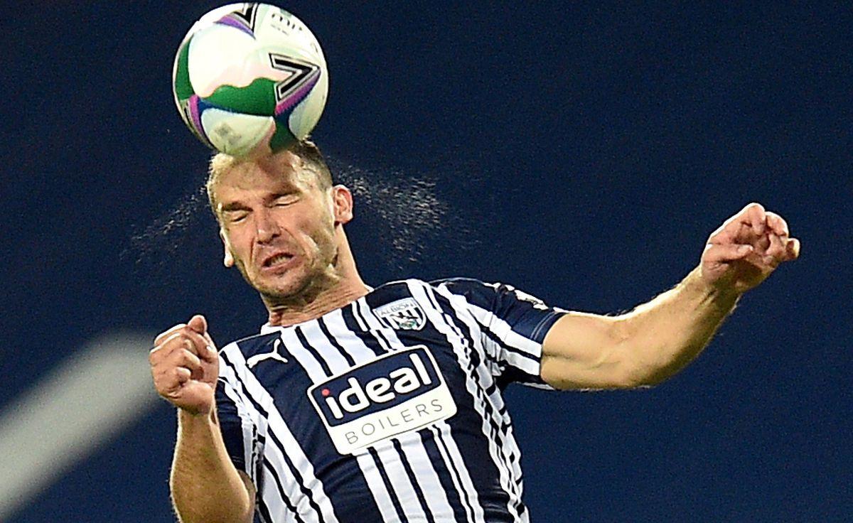 West Bromwich Albion's Branislav Ivanovic