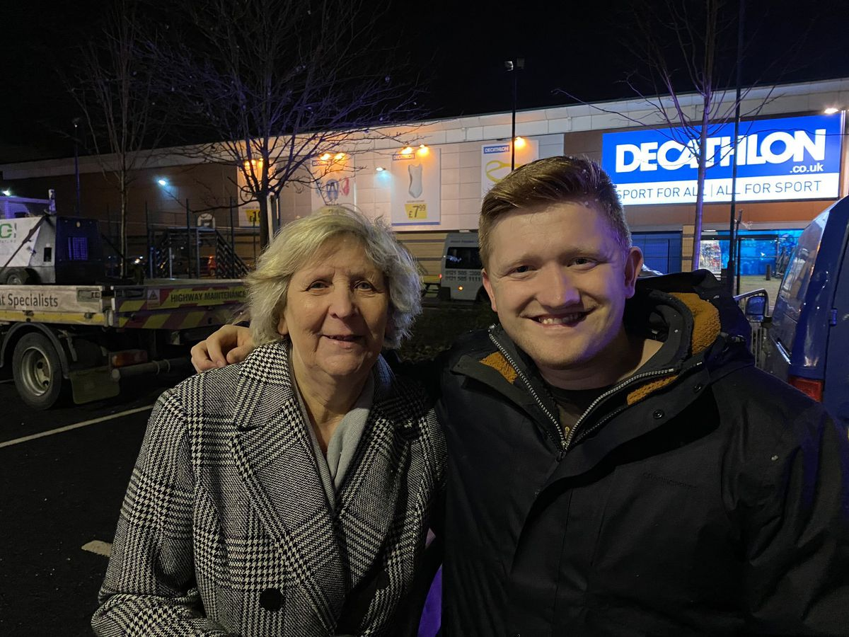 Chesney From Coronation Street at Christmas Lights switch-on at Gallagher Retail Park, Wednesbury.Photo: John Kennett