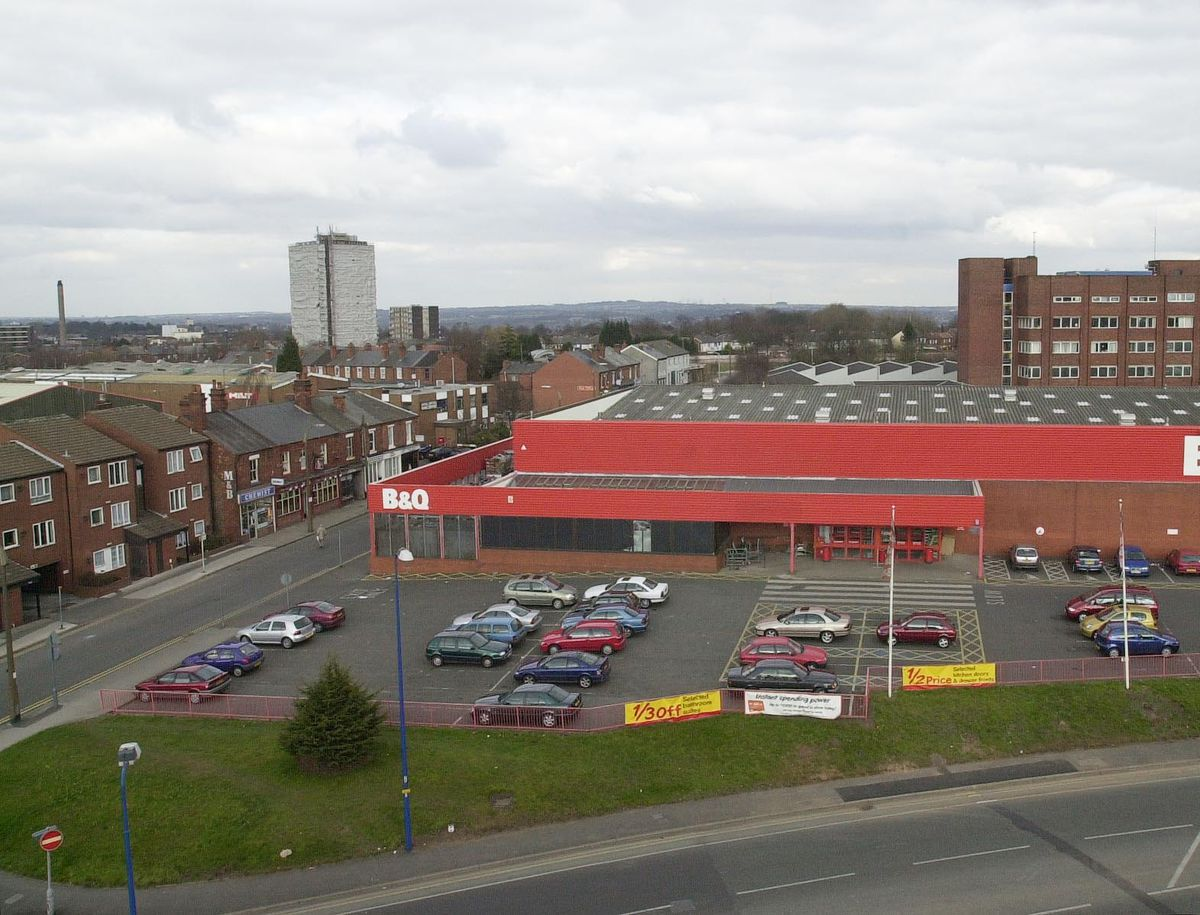 The old B&Q store and West Bromwich Police Station
