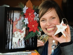 Crafty Christmas fair in Cannock this weekend