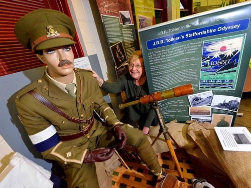 Tolkien war exhibition arrives in Cannock - with video