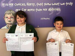 Hillwest pupils have written letters to Prime Minister Boris Johnson