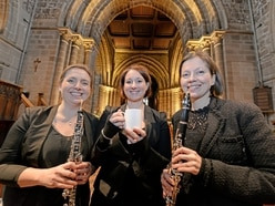 Stafford trio mark start of coffee concerts at church